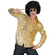 Gold Saturday Night Shirt Adult Halloween Costume