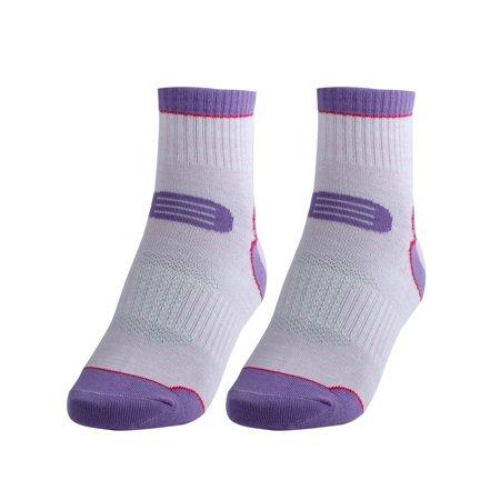 R-BAO Authorized Outdoor Exercise Hiking Bicycle Cycling Socks Light Purple - Hiking Socks