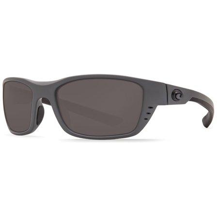 Costa Del Mar Whitetip WTP 98 Matte Gray (Matte Grey Sunglasses)