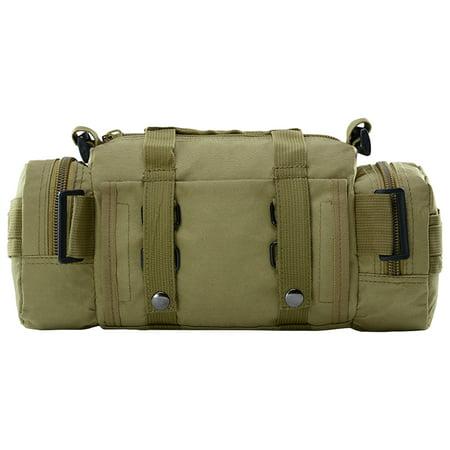 Multi-functional Waist Pack Bike Front Handle Bag Fishing Tackle Sling Bag Photography Training Utility Shoulder Backpack - image 5 de 7