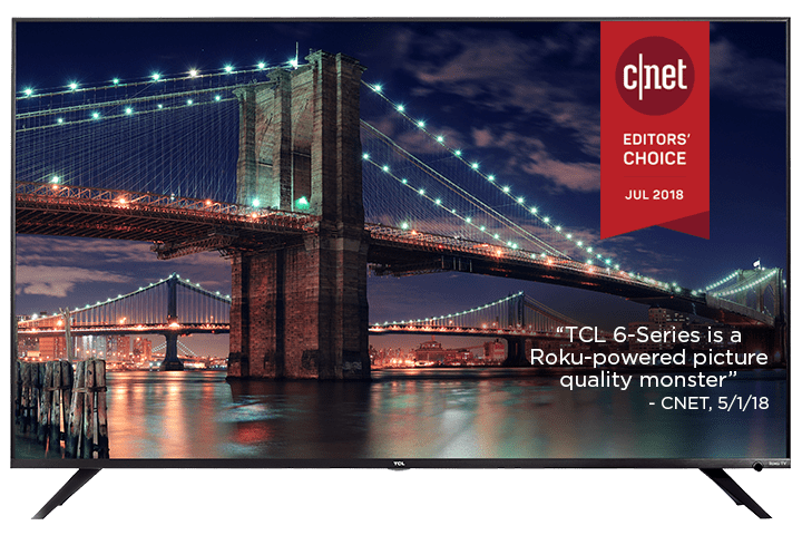 TCL 55 inch Class 6-Series 4K UHD Dolby Vision HDR Roku Smart TV - 55R615
