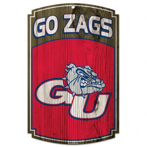 NCAA - Gonzaga Bulldogs 11x17 Wood Sign