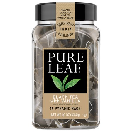 Pure Leaf Black Tea with Vanilla Hot Tea Bags, 16 ct
