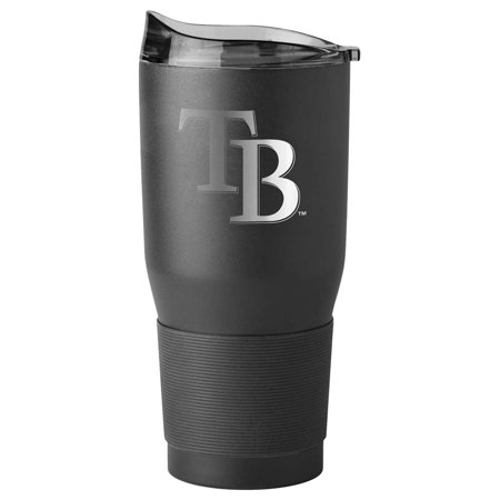Tampa Bay Rays 30oz. Black Powder Coat Ultra Travel Mug - No (Tampa Bay Lightning Travel Mug)