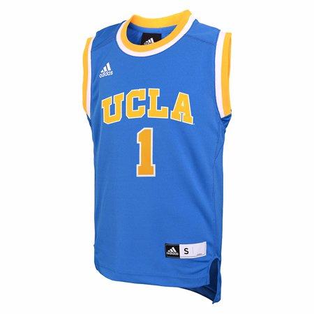 UCLA Bruins NCAA Adidas Light Blue Official Home Replica  1 Basketball  Jersey For Boys - Walmart.com dec1cab86