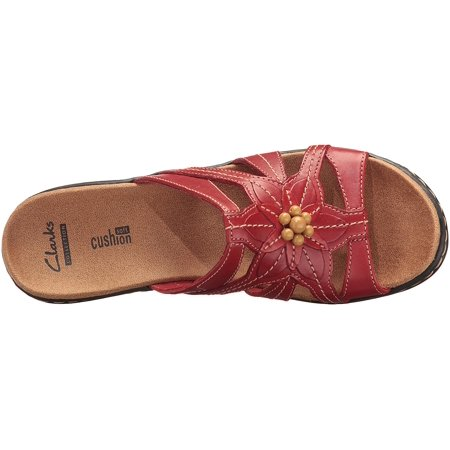 ebd7dfd8 CLARKS Womens LEXI MYRTLE Leather Open Toe Casual Slide | Walmart Canada