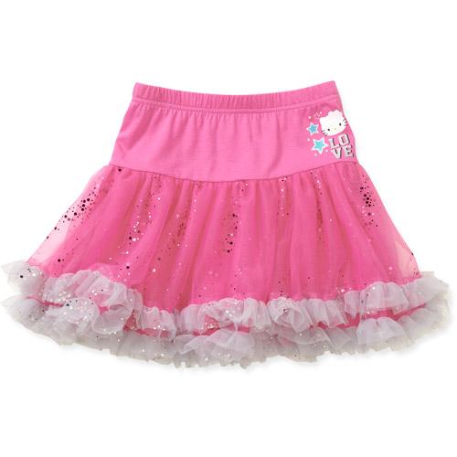 Hello Kitty Girls' Mesh Skirt