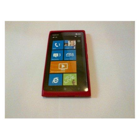 Nokia LUMIA 900 Soft Sleeve Gel Case - Pink