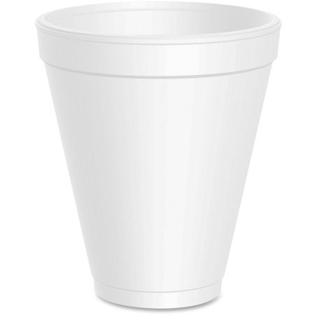 Dart 12 Ounce Foam Drink Cups, 1000ct Dart Big Drink Cup