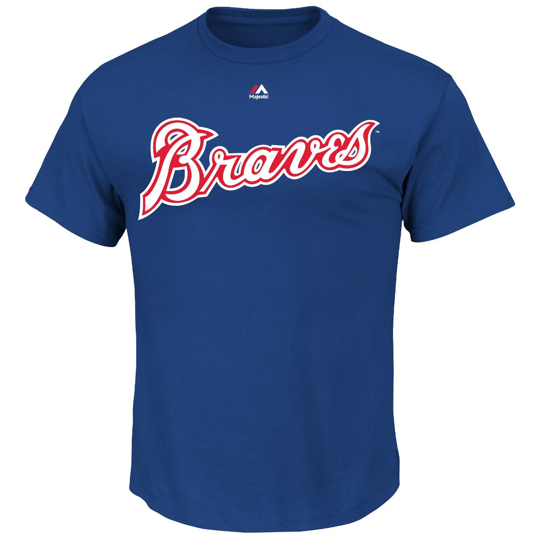 Dale Murphy Atlanta Braves MLB Majestic Cooperstown Player Blue T-Shirt