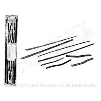 GMK302042364S Door Weatherstrips for 1964-1966 Ford Mustang