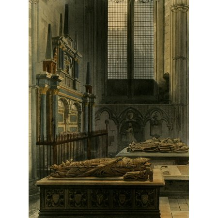 Abbey Church of St Peters Westminster Chapel of St Benedict Canvas Art...