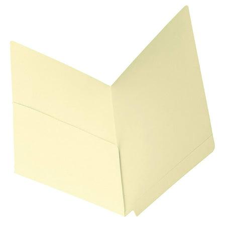 End Tab Diagonal Pocket (End Tab File Pocket, Shelf-Master Reinforced Straight-Cut Tab, 1 Pocket, Letter Size, Manila, 50 per Box (24115), The industry standard for efficient shelf.., By)