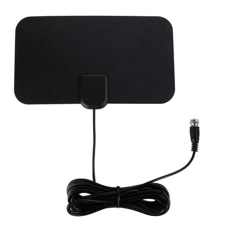 Indoor Uhf Hdtv - 2018 NEWEST Best 50 Miles Long Range TV Antenna Freeview Local Channels Indoor Basic HDTV Digital Antenna for 4K VHF UHF with Detachable Ampliflier Signal Booster Strongest Reception 13ft Coax Cable