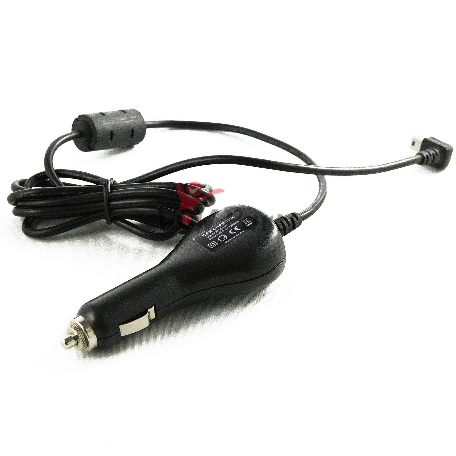 TSV Car Vehicle Power Charger Adapter Cord Cable For Garmin GPS Nuvi 255 260 270W 1A