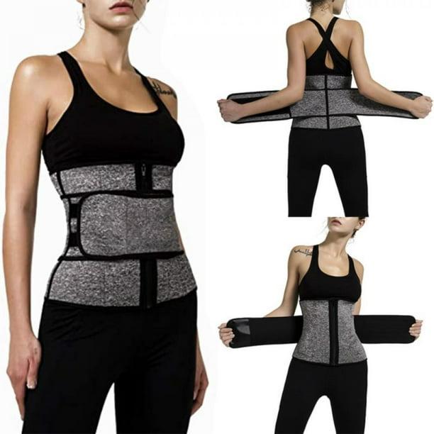 Corset Trimmer Details about  /Women/'s Waist Trainer Corsets Sweat Belt Sauna Suit for Fitness