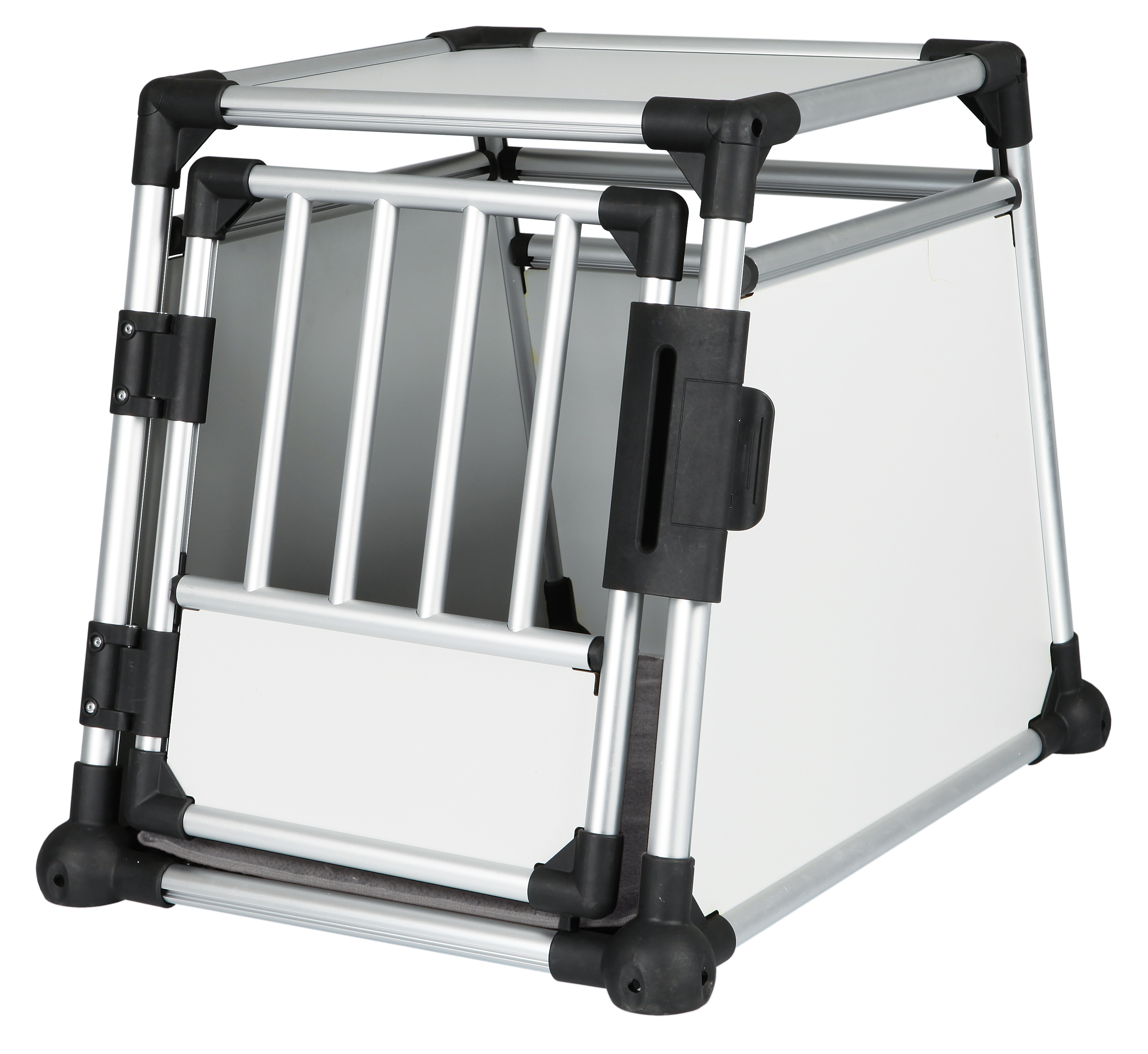 Trixie Pet Scratch-Resistant Metallic Crate (M)