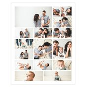 11x14 Photo Collage Poster