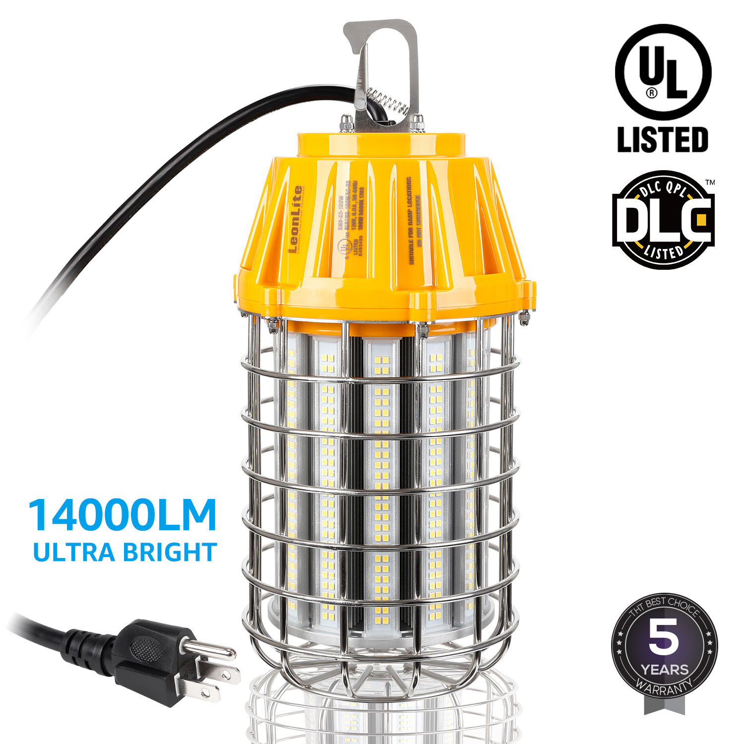 100W LED Temporary High Bay Light, Factory Houseware Industry Lighting Feature