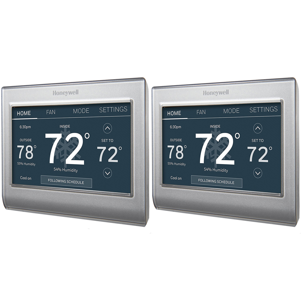 Honeywell Wi-Fi Smart Color Programmable Thermostat 2 Pack (RTH9585WF1004)