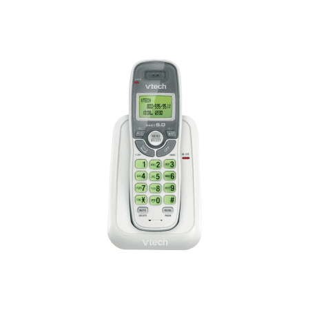 - VTech CS6114 DECT 6.0 Cordless Phone System (without Digital Answering System)