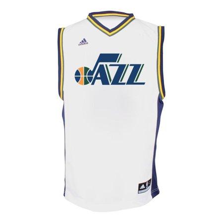 ... Utah Jazz Adidas NBA Dante Exum 11 Replica Jersey (White) ... 561af177f