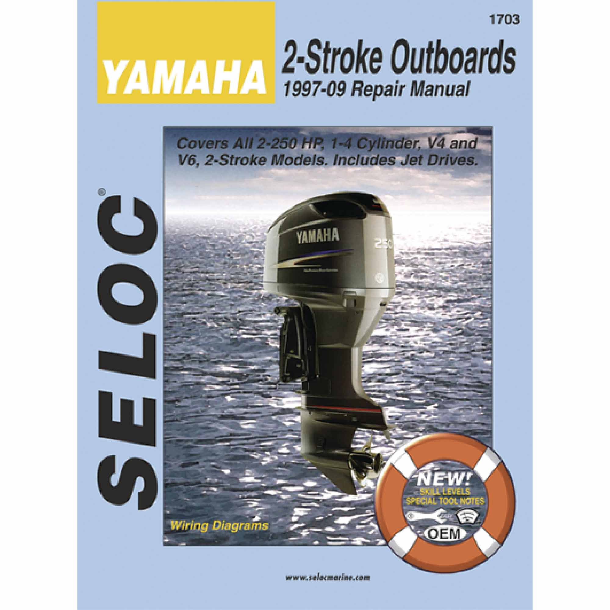 Seloc Marine Manual for Yamaha Outboards