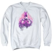 Dark Knight Rises Spray Bat Mens Crewneck Sweatshirt