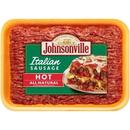 Johnsonville Sausage Hot Italian Sausage, 16 oz
