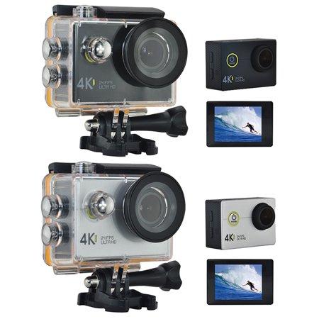 Sport Camera Ultra HD 4K WiFi Waterproof Cameras Underwater Diving /170 Degrees/900mAh Battery