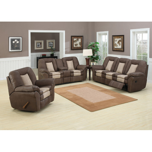 AC Pacific Carson 3 Piece Living Room Set
