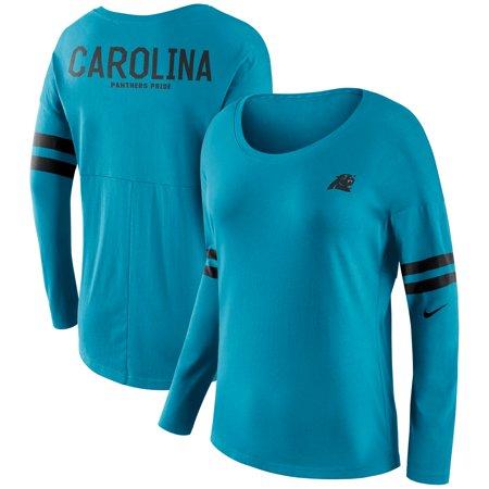 Carolina Panthers Nike Women's Tailgate Long Sleeve T-Shirt -