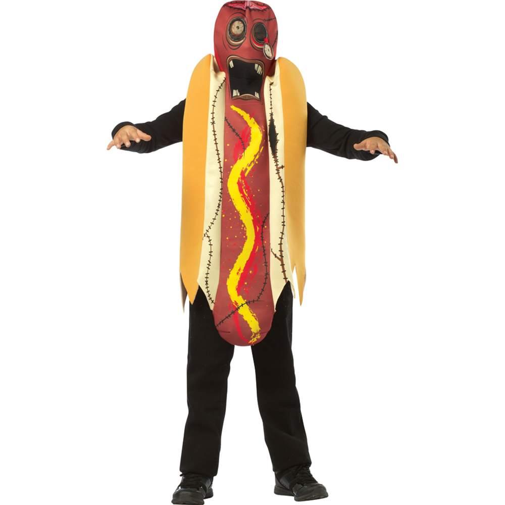 Zombie Hot Dog Kids Costume