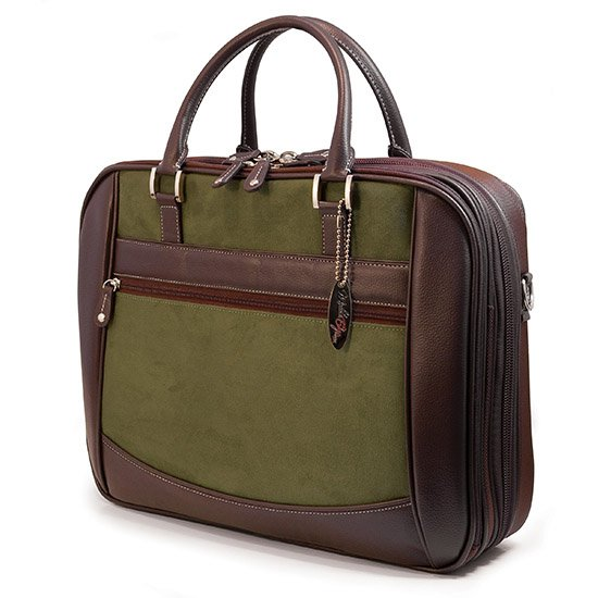 Mobile Edge 16 Inch ScanFast Element Briefcase - Green