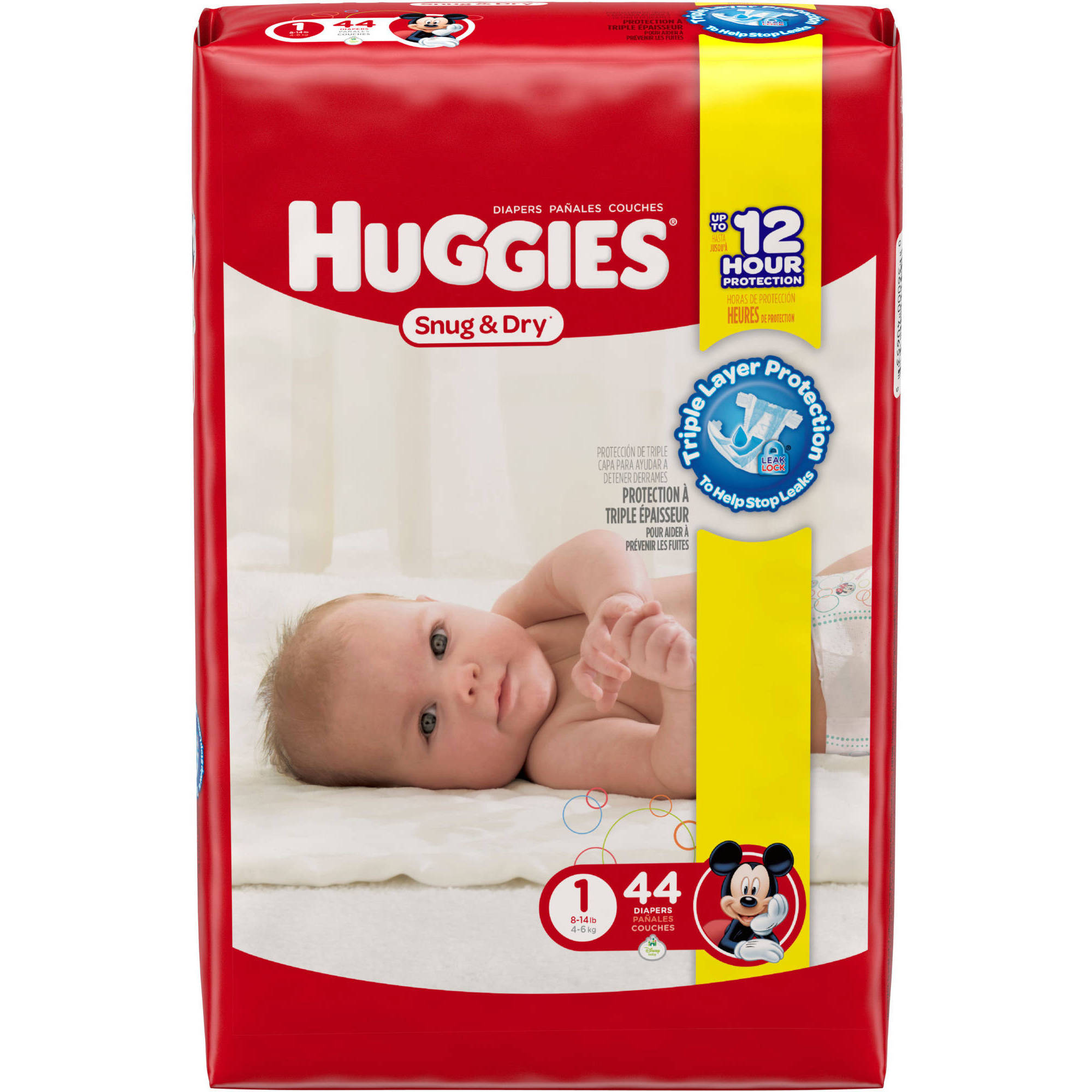 HUGGIES Snug & Dry Diapers Jumbo Pack (Choose Your Size)
