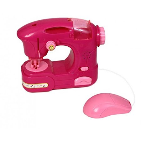 Dazzling Toys Happy Family Kids Pretend Play Sewing Machine With Best Kids Sewing Machine At Walmart