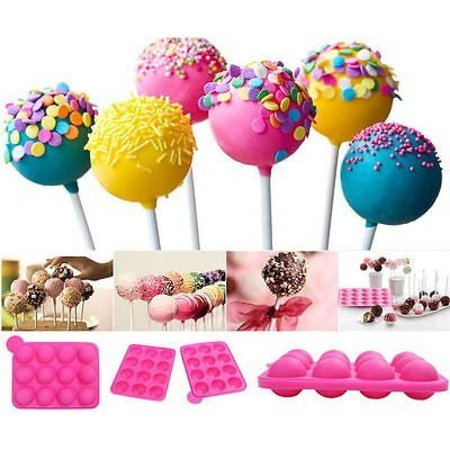 Silicone Cake Pop Mould Cupcake Mold Lollipop Sticks Baking Tray Stick - Halloween Easy Cake Pops