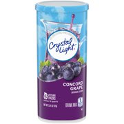 (36 Pitcher Packs) Crystal Light Concord Grape Drink Mix, 2.01 oz