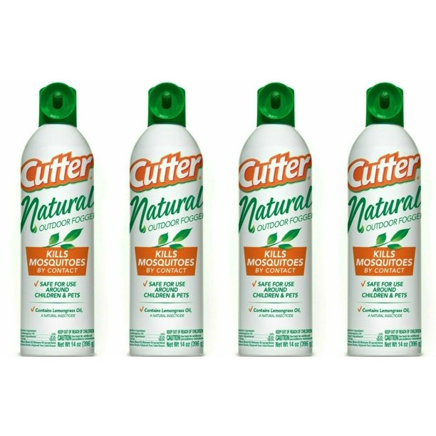 4 Cutter Mosquito Insect Repellent Spray Repel - Backyard ...