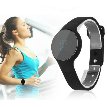 H01 Smart Wristband, Bracelet Heart Rate Monitor Smart Wristband Fitness Tracker Touchpad Call Remind Pedometer Sport Watch Smart Wristband