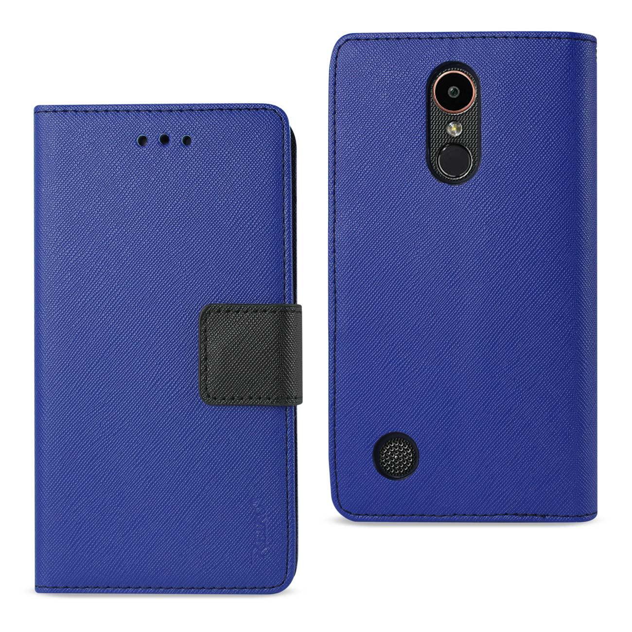 LG K20 V/ K20 PLUS 3-IN-1 WALLET Credit Card Holder Leather Case Cover