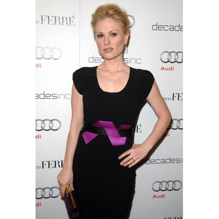 Anna Paquin At Arrivals For Audi Decades Of Fashion Golden Globe Celebration With Anna Paquin Sunset Tower Hotel West Hollywood Ca January 10 2010 Photo By Dee Cerconeeverett Collection