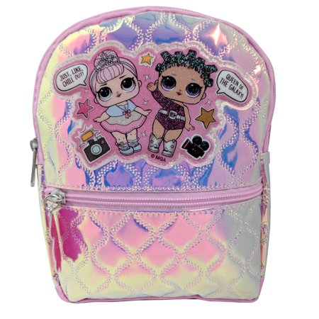 """LOL Silver Shine 10"""" X-Small Backpack"""