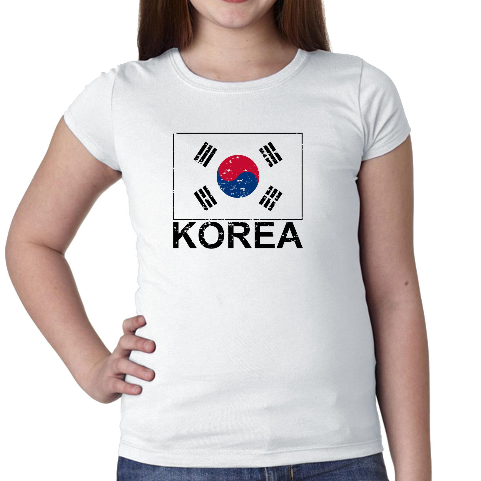 Korea Flag Special Vintage Edition Girl