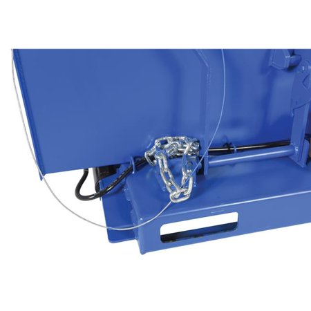 Flow Hopper (Vestil Manufacturing H-DAMP-4 H-Style Hopper Optional 4000 lbs Flow Control )