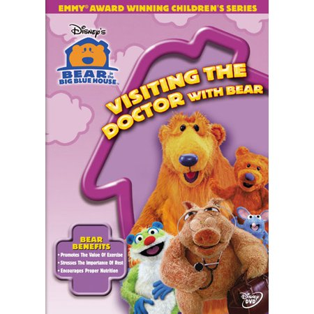 Bear in the Big Blue House: Visiting the Doctor with Bear (Bear In The Big Blue House Cast)