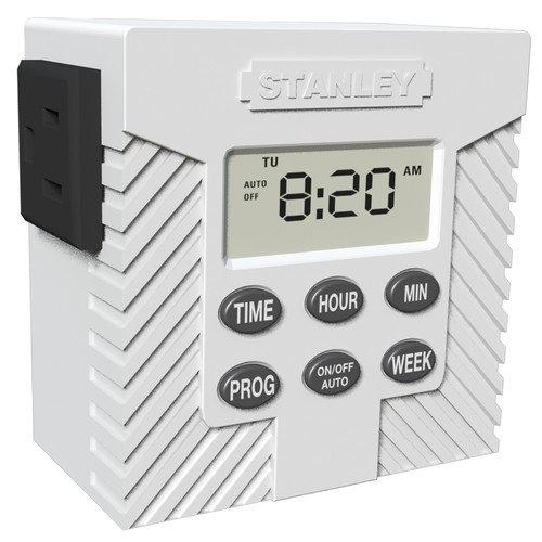 Stanley Electrical Single Outlet Weekly Digital Timer