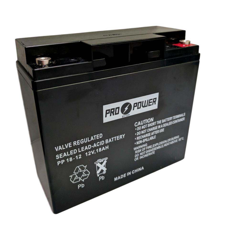 Pro Power 12v 18ah for Quick Cable Rescue Jump Pack 950