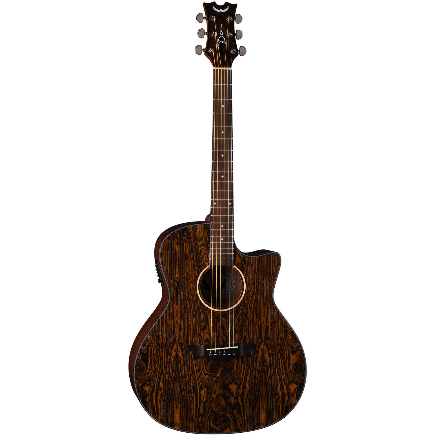 Dean AXS Exotic Cutaway Acoustic Electric Guitar Caidie by Dean