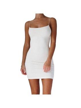 d1cc7f709c86c White Urkutoba Womens Dresses - Walmart.com